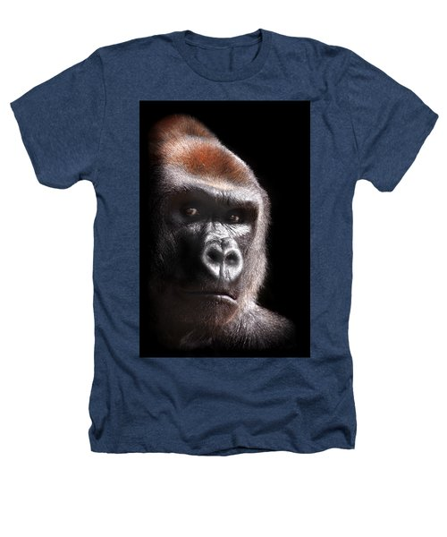 Gorilla ... Kouillou Heathers T-Shirt by Stephie Butler