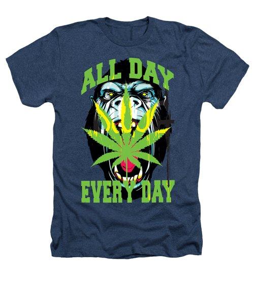 Gorilla Warfare  Heathers T-Shirt by John D'Amelio