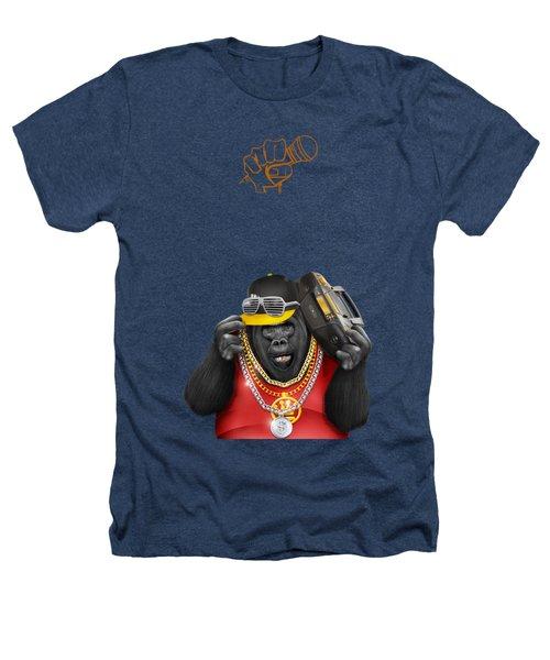 Gorillaz Hip Hop Style Heathers T-Shirt