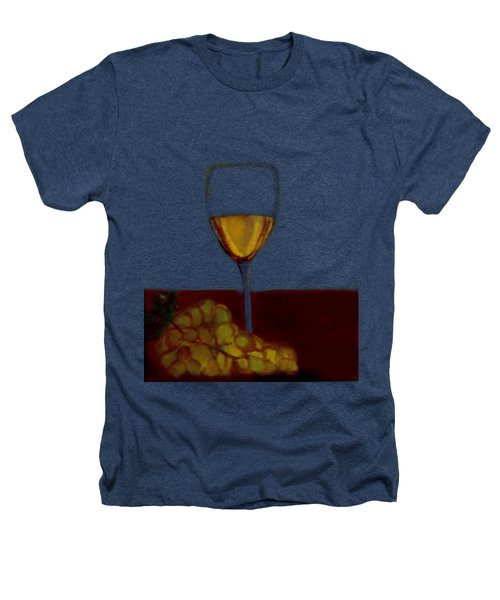 Grapes With Wine Heathers T-Shirt