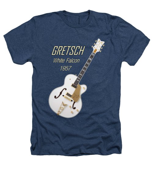 Gretsch  White Falcon 1957 Heathers T-Shirt by Shavit Mason