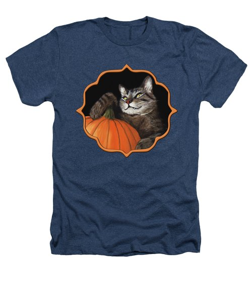 Halloween Cat Heathers T-Shirt