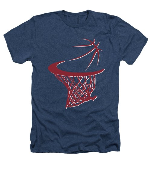 Heat Basketball Hoop Heathers T-Shirt by Joe Hamilton