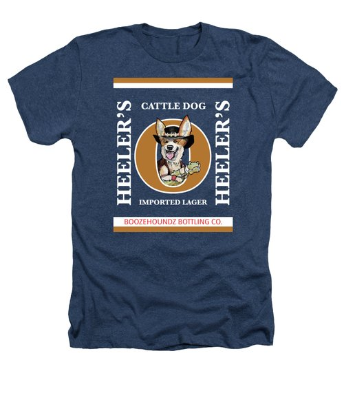 Heeler's Cattle Dog Imported Lager Heathers T-Shirt