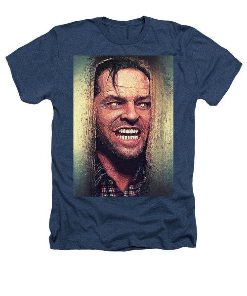 Here's Johnny - The Shining  Heathers T-Shirt by Taylan Apukovska