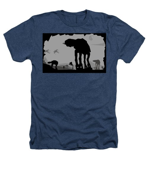 Hoth Machines Heathers T-Shirt by Michael Bergman