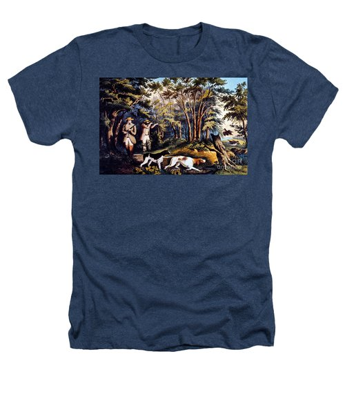 Hunting: Woodcock, 1852 Heathers T-Shirt