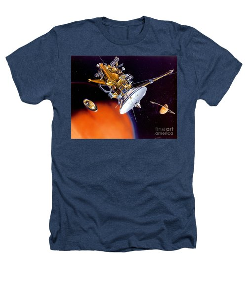 Huygens Probe Separating Heathers T-Shirt by NASA and Photo Researchers