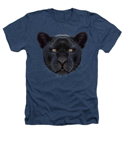 Illustrated Portrait Of Black Panther.  Heathers T-Shirt