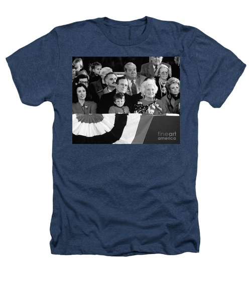 Inauguration Of George Bush Sr Heathers T-Shirt by H. Armstrong Roberts/ClassicStock