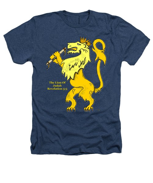 Inspirational - The Lion Of Judah Heathers T-Shirt