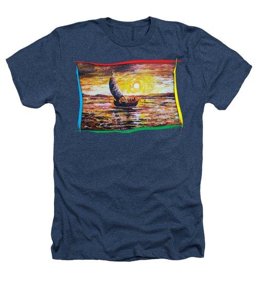 Island Sunset Heathers T-Shirt