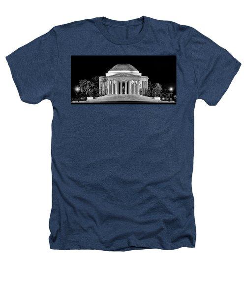 Jefferson Memorial Lonely Night Heathers T-Shirt