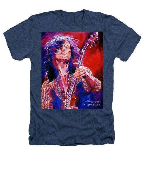 Jimmy Page Heathers T-Shirt by David Lloyd Glover
