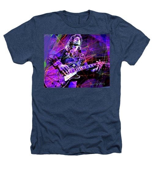 Jimmy Page Solos Heathers T-Shirt by David Lloyd Glover