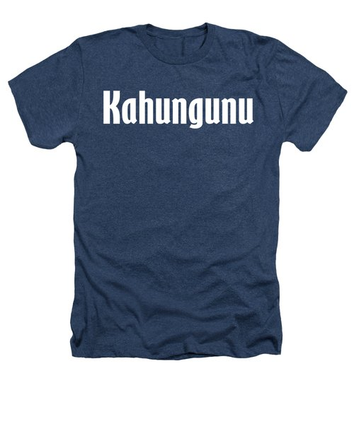 Kahungunu Heathers T-Shirt by Regan Butler