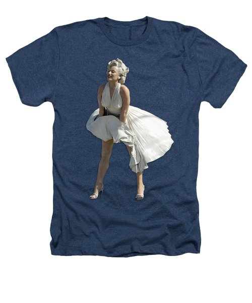 Key West Marilyn - Special Edition Heathers T-Shirt by Bob Slitzan