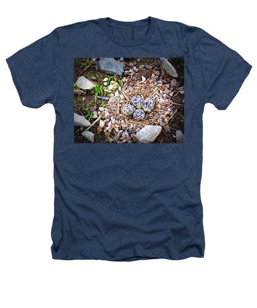 Killdeer Nest Heathers T-Shirt by Cricket Hackmann