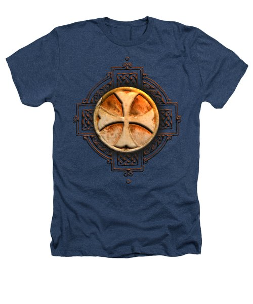 Knights Templar Symbol Re-imagined By Pierre Blanchard Heathers T-Shirt by Pierre Blanchard