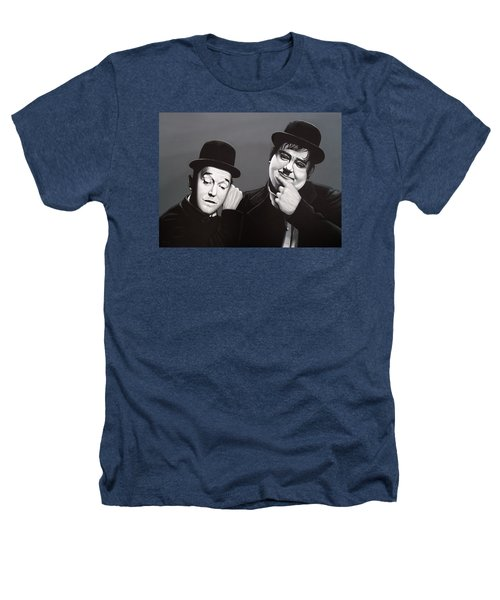 Laurel And Hardy Heathers T-Shirt by Paul Meijering