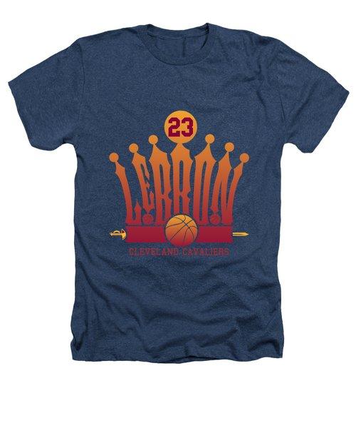 Lebroncrown Heathers T-Shirt by Augen Baratbate