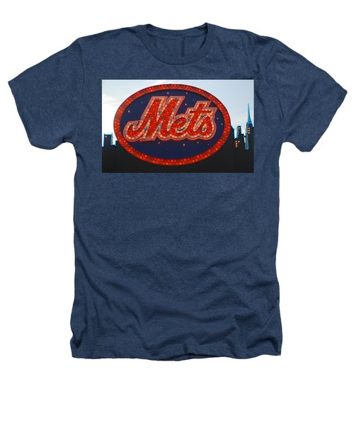 Lets Go Mets Heathers T-Shirt