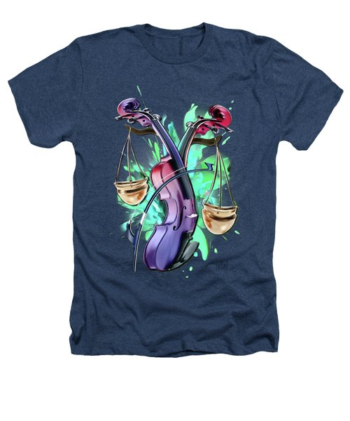 Libra Heathers T-Shirt by Melanie D