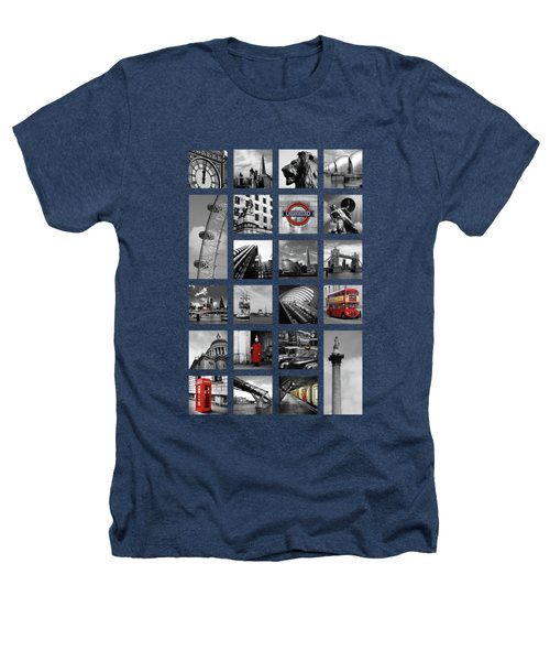 London Squares Heathers T-Shirt by Mark Rogan