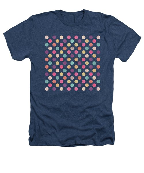 Lovely Polka Dots  Heathers T-Shirt by Amir Faysal