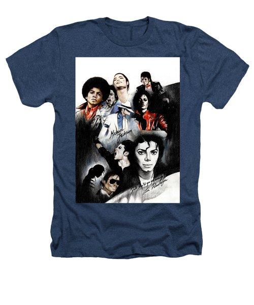 Michael Jackson - King Of Pop Heathers T-Shirt