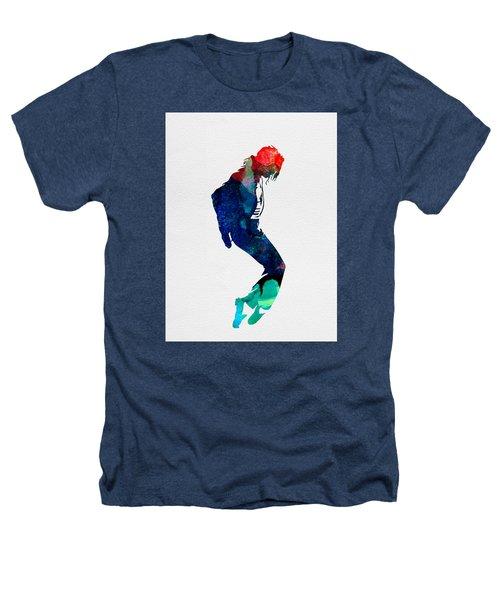 Michael Watercolor Heathers T-Shirt by Naxart Studio