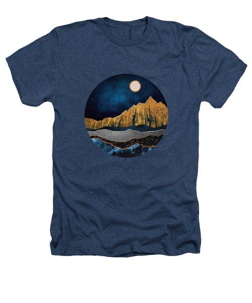 Midnight Desert Moon Heathers T-Shirt