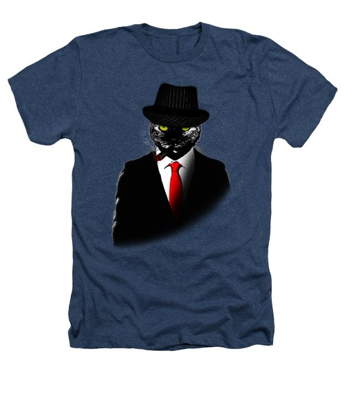 Mobster Cat Heathers T-Shirt