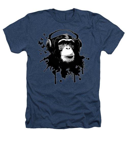 Monkey Business - Black Heathers T-Shirt
