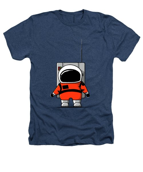 Moon Man Heathers T-Shirt by Nicholas Ely