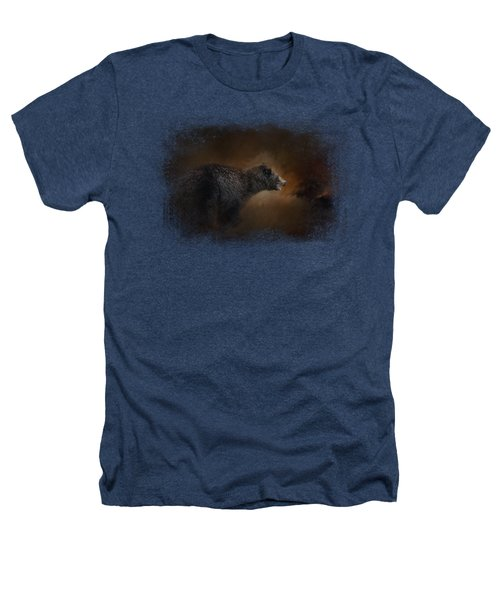 Moonlight Run Heathers T-Shirt by Jai Johnson