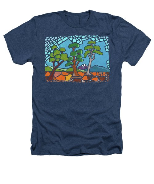 Mosaic Trees Heathers T-Shirt