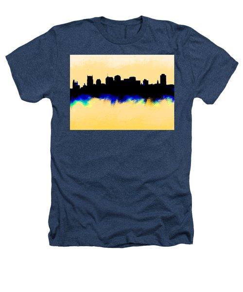 Nashville  Skyline  Heathers T-Shirt by Enki Art