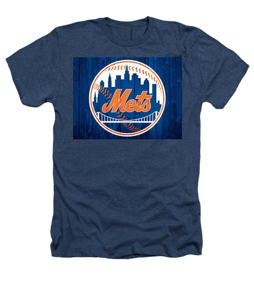 New York Mets Barn Door Heathers T-Shirt