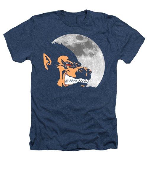 Night Monkey Heathers T-Shirt by Danilo Caro