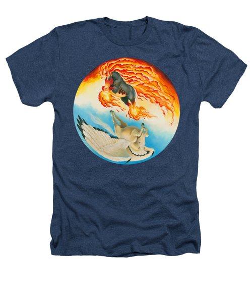 Nightmare And Mesa Pegasus Yin Yang Heathers T-Shirt