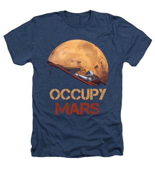 Occupy Mars Heathers T-Shirt