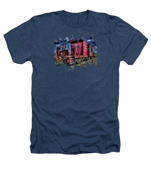 Old Red Caboose Heathers T-Shirt by Thom Zehrfeld