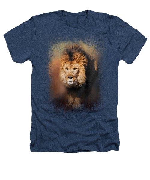 On The Hunt Heathers T-Shirt by Jai Johnson