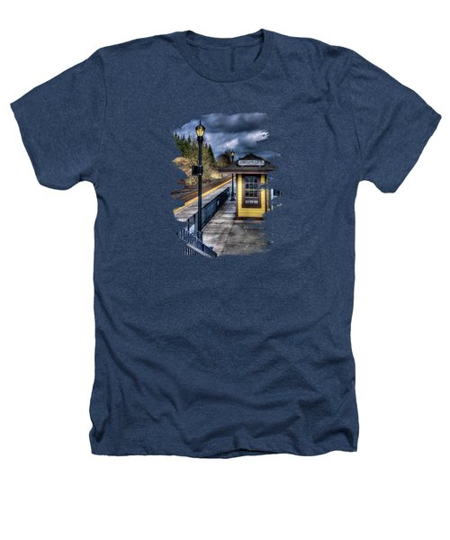 Oregon City Train Depot Heathers T-Shirt