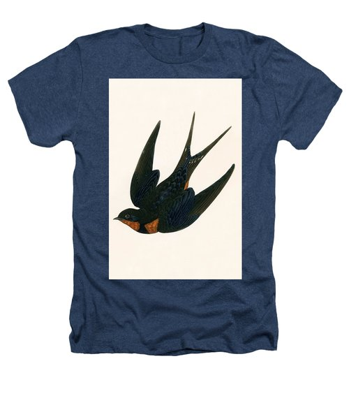 Oriental Chimney Swallow Heathers T-Shirt