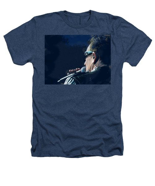 Over The Shoulder Of Bono Heathers T-Shirt