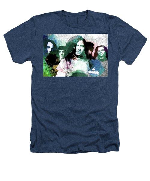 Pearl Jam Portrait  Heathers T-Shirt by Enki Art