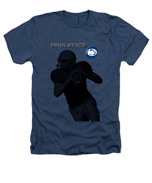 Penn State Football Heathers T-Shirt by David Dehner