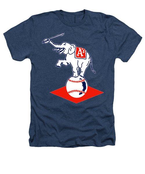 Philadelphia Athletics Retro Logo Heathers T-Shirt